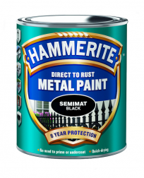 Hammerite Semimat Finish